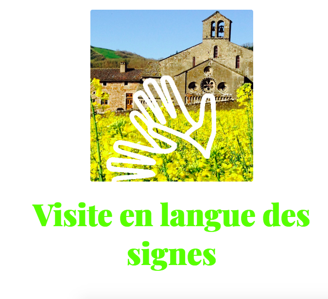 Guided tour in sign language
