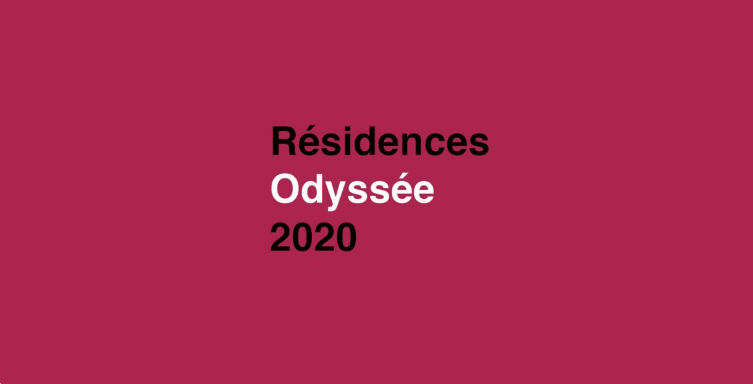 Call for application 2020 - Odyssée Programme