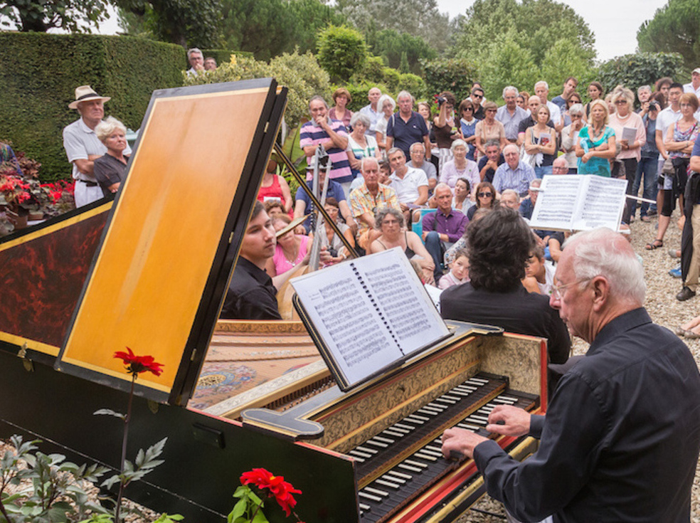 The festival Dans les Jardins de William Christie