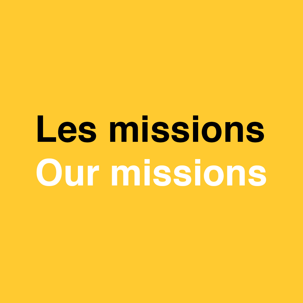 les missions - nos missions - accr